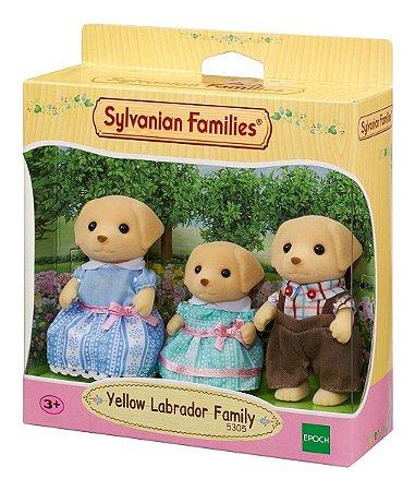 Sylvanian Families A Família Dos Labradores Da Epoch 5305