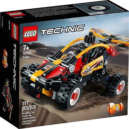 Lego Technic Blocos De Montar Veiculo Buggy 117 Peças 42101