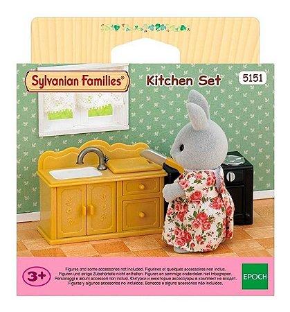 Sylvanian Families  Conjunto Cozinha Da Epoch 5151