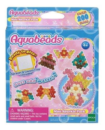 Conjunto Aquabeads Mini Beads Brilhantes Epoch Magia 30978