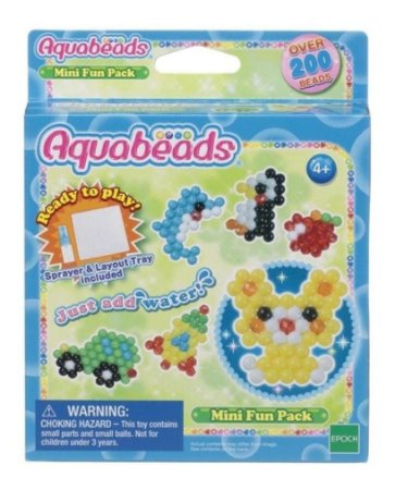 Conjunto Refil  Mini  Fun Pack Beads Aquabeads Epoch 30968