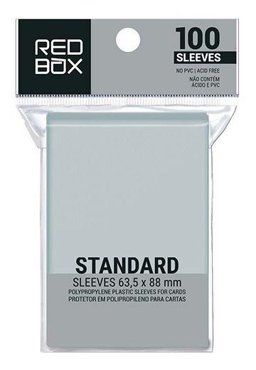 Sleeve  Redbox  Padrão (63,5 x 88 mm) -100 Unidades