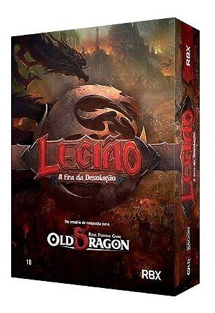 Old Dragon Legião  Caixa Básica  Rpg  Redbox