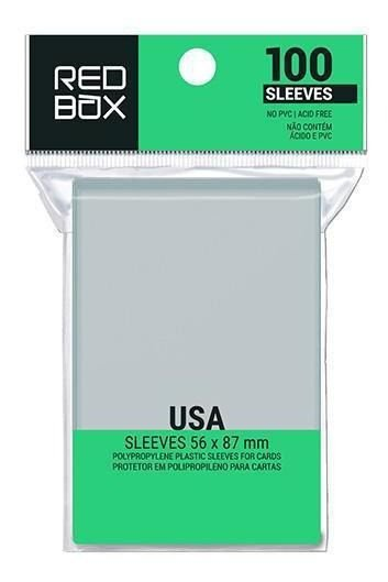 Sleeve Redbox: Usa  56x87mm