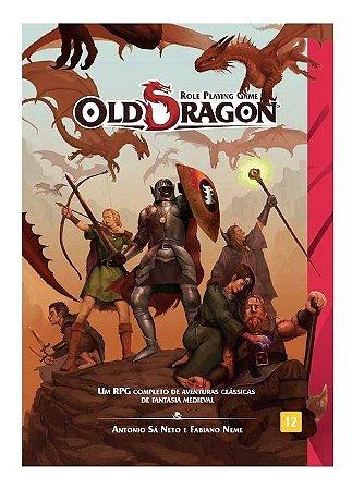 Old Dragon Livro Básico  Rpg  Redbox