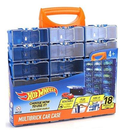 Brinquedo Hot Wheels Maleta Porta Carrinho Modular Fun 82664