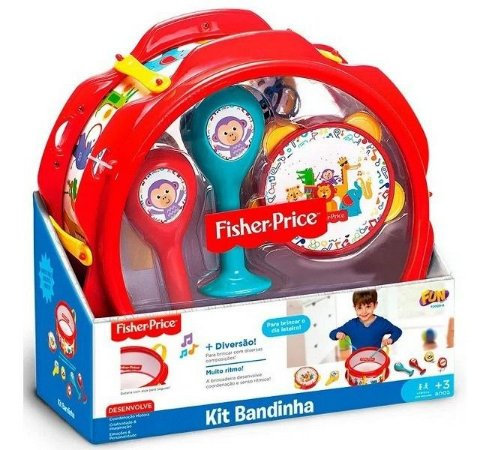 Kit Bandinha Fisher Price - Fun F00009