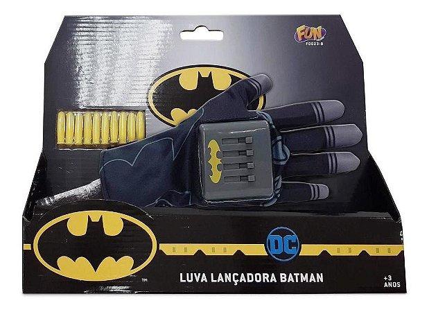 Batman Luva Lancadora Dardos Fun