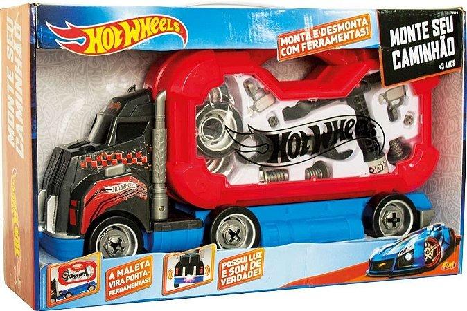 Hot  Wheels Monte Seu Caminhão  Fun 75049