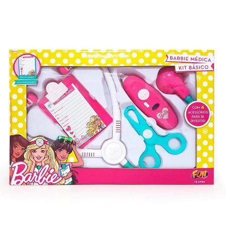 Barbie Médica Kit Básico Fun 7623-0