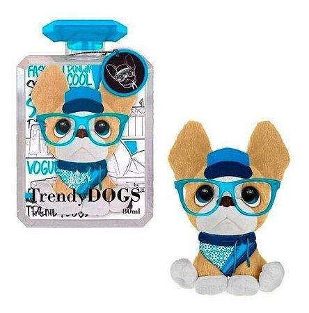 Pelúcia Cachorro Perfumada Trendy Dogs Alex Sidney 15 Cm Fun