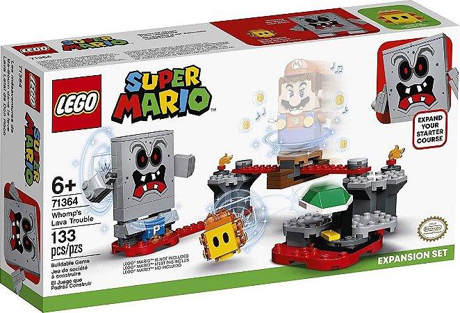 Lego Super Mario Revés Das Lavas Do Esmagão 71364