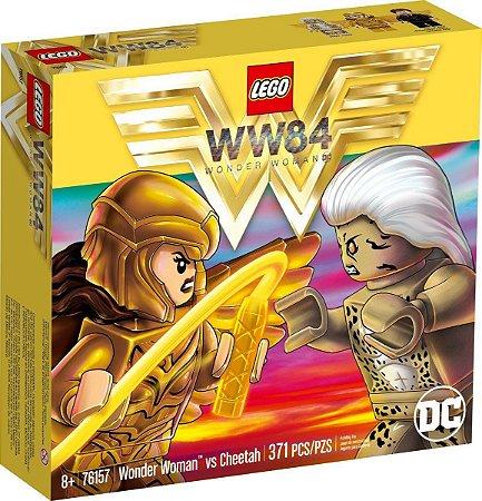 Lego Mulher Maravilha Vs Cheetah 371 Peças 76157