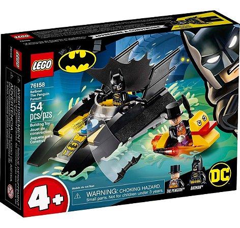 Lego Dc Batman Perseguição De Pinguim Em Batbarco 76158