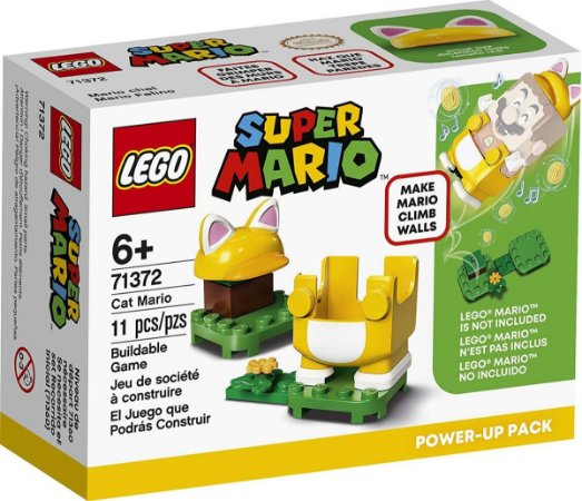 Lego Super Mario Mario Gato  Power Up Pack 71372