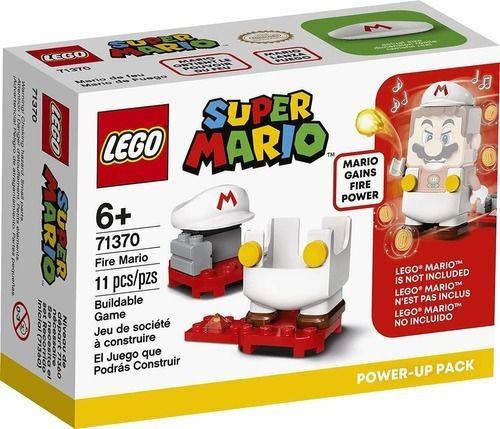 Lego Super Mario  Mario De Fogo Power Up 71370
