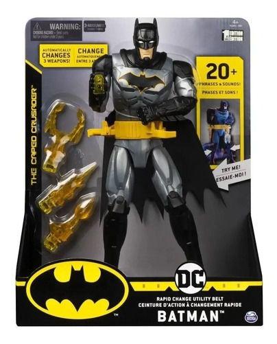 Boneco Dc Comics Batman Figura De Luxo 30 Cm 2181 Sunny