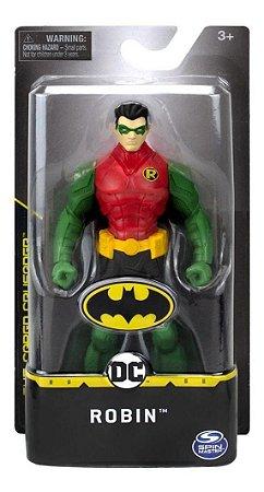 Figura Articulada Robin  14 Cm  Dc Comics - Sunny 2187