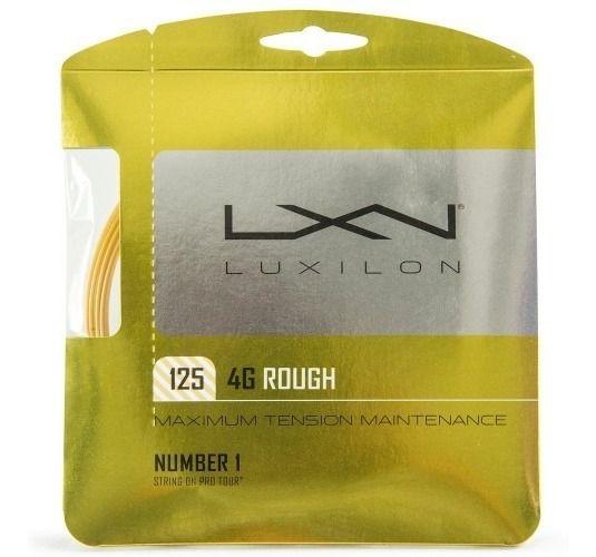 Corda Luxilon 4g 1.25mm Rough Cartela