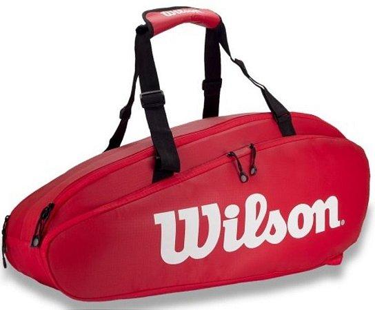 Raqueteira Wilson Tour 2 X9 - Vermelha