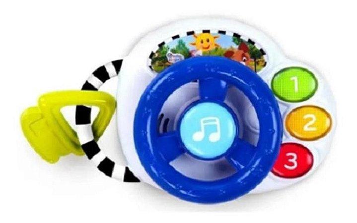 Brinquedo Driving Tunes  Volante Divertido Baby Einstein
