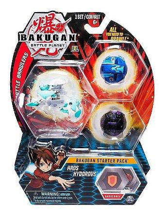 Bakugan Battle Planet Starter Pack Haos Hydorous Ultra Sunny