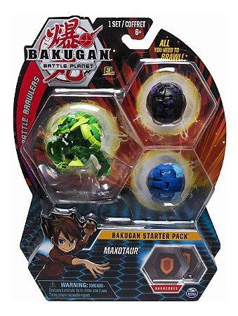 Bakugan Battle Planet Starter Pack Maxotaur  Sunny