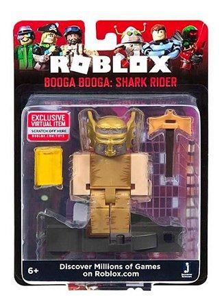 Roblox - Figura 7 Cm Booga Booga Shark Rider