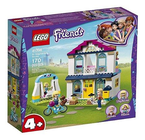 Lego Friends  A Casa Da Stephanie Com 170 Peças 41398