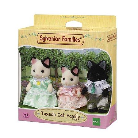 Sylvanian Families Família Dos Gatos Malhados Epoch 5306