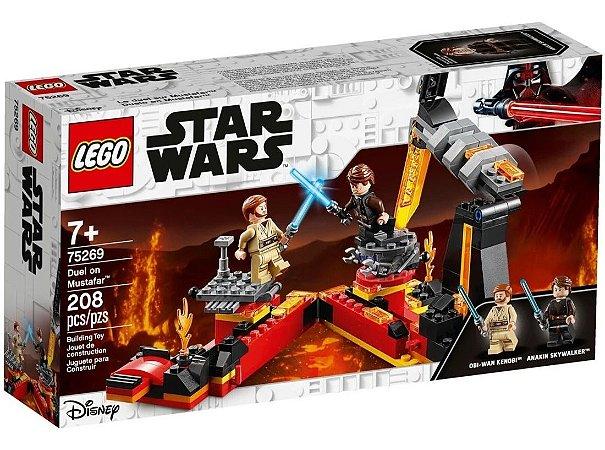 Lego Star Wars Tm O Duelo Em Mustafar Com 208 Peças 75269