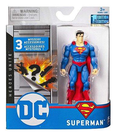 Boneco Dc Liga Da Justiça Heroes Unite Superman Sunny 2189