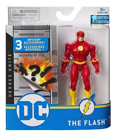 Boneco  Dc Liga Da Justiça Heroes Unite The Flash Sunny 2189