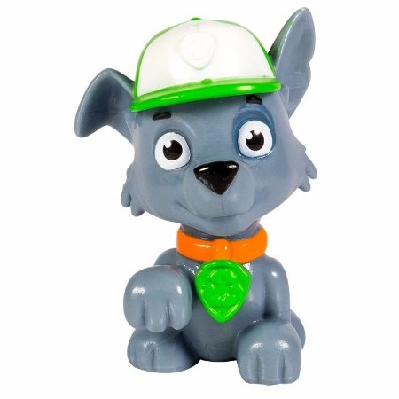 Patrulha Canina - Figura Individual No Blíster Rocky
