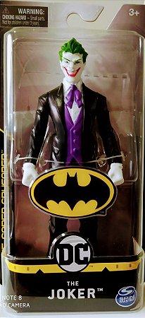 Boneco Coringa Terno Preto The Joker  Sunny 2187