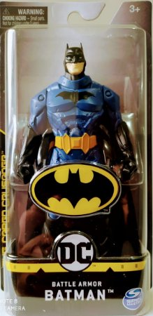 Boneco Batman Battle azul Sunny 2187