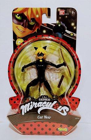 Cat Noir Ladybug  Boneco 13 Cm  - Sunny