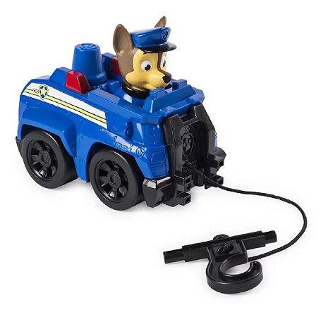 Mini Veiculo E Figura Patrulha Canina Chase 1419 - Sunny