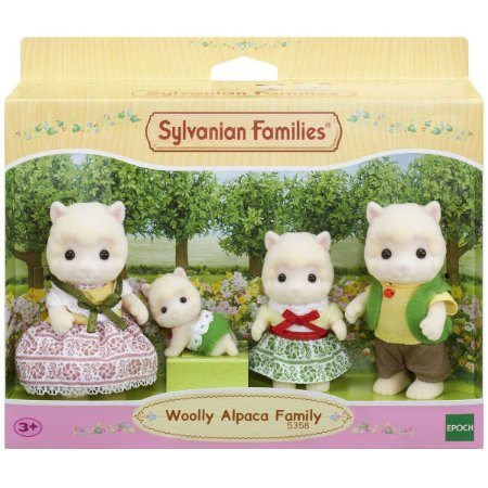 Sylvanian Families Familia Das Alpacas Epoch 5358