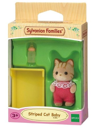 Sylvanian Families Bebê Gato Listrado Epoch 5186