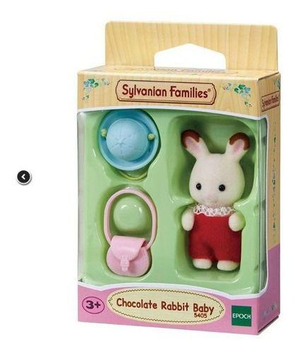 Sylvanian Families  Bebê Coelho Chocolate  Epoch 5405