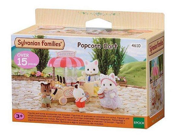 Sylvanian Families Carrinho De Pipocas Epoch Magia 4610