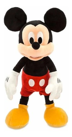 Pelúcia Mickey Mouse Disney Store  40cm Fun