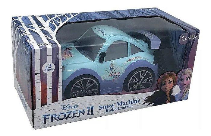 Carrinho Controle Remoto Frozen  Snow Machine Lilás  8352