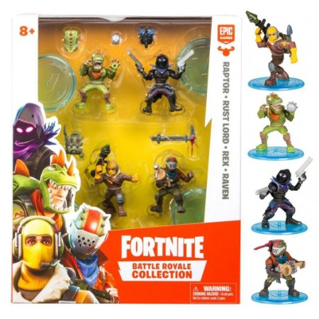 Fortnite Battle Royale Collection Mini Figura C/4  Fun 84708
