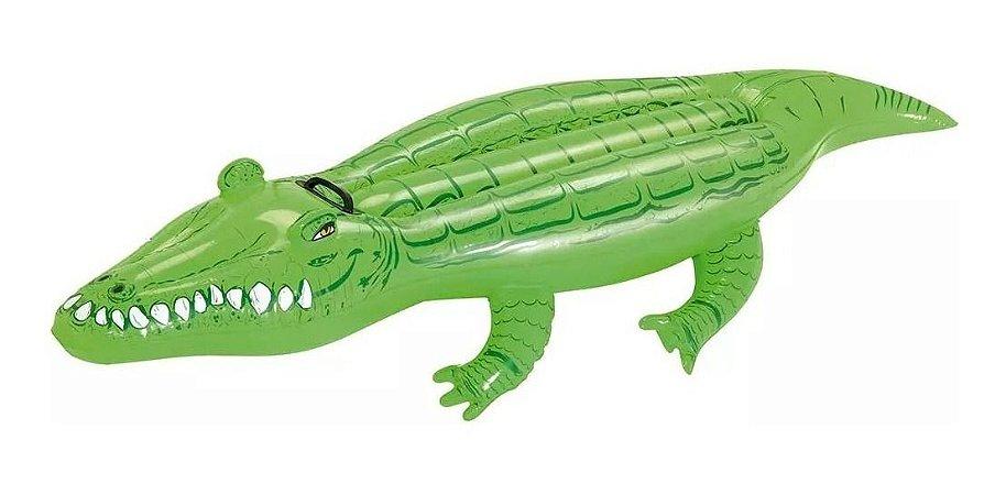 Boia Inflável Infantil Crocodilo Para Piscina Jacaré - Mor