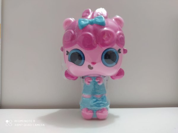 Mini Boneca Pop Pop Hair Surprise - Frilly  - Candide