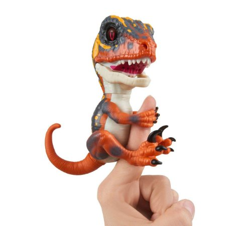 Fingerlings Untamed Dinossauro Laranja - Blaze - Candide