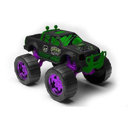 Carrinho Roda Livre  - Marvel - Hulk - Venomized Truck 9401