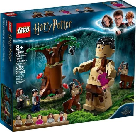 Lego Harry Potter75967  A Floresta Proibida Grope E Umbridge